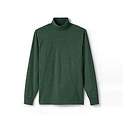 Lands' End - Green super tee polo neck