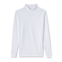 Lands' End - White men's super tee polo neck