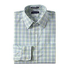 Lands' End - Multi patterned straight collar easy-iron pinpoint shirt