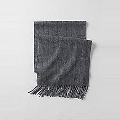 Lands' End - Grey cashmere scarf