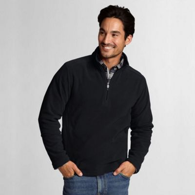 Black Polartec Aircore 100 Half-Zip Fleece