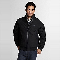 Lands' End - Black men's classic squall jacket