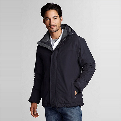 Lands' End - Blue Squall Hooded Jacket