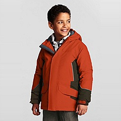 Lands' End - Orange boys' squall waterproof parka