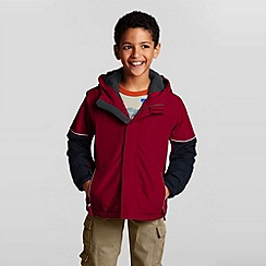 Lands' End - Red boys' squall waterproof jacket