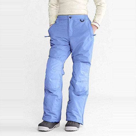 Lands+ End - Blue girls+ squall ski pants