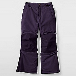 Lands' End - Purple girls' squall ski pants