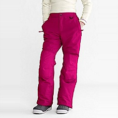 Lands' End - Pink girls' squall ski pants