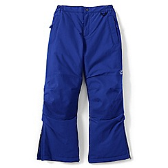 Lands' End - Boys' blue squall ski pants