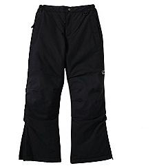 Lands' End - Black little boys' squall ski pants