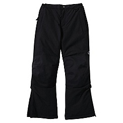 Lands' End - Black boys' squall ski pants