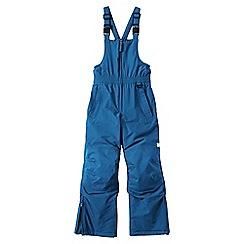 Lands' End - Blue little boys' waterproof squall snow salopettes