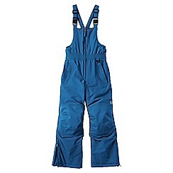 Lands' End - Blue boys' waterproof squall snow salopettes