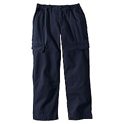 Lands' End - Blue boys' iron knee ripstop trousers