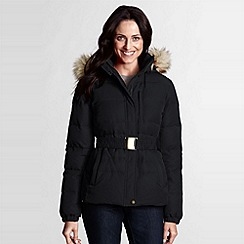 Lands' End - Black Modern Down Jacket