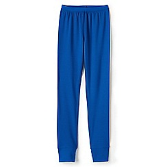 Lands' End - Boys' blue thermaskin heat midweight thermal pants