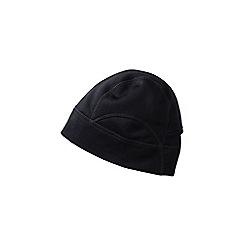 Lands' End - Black regular polartec power stretch hat