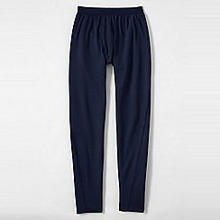 Lands' End - Blue regular midweight thermaskin heat pants