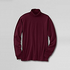 Lands' End - Red men's super tee rollneck