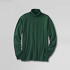 Lands' End - Green men's super tee rollneck