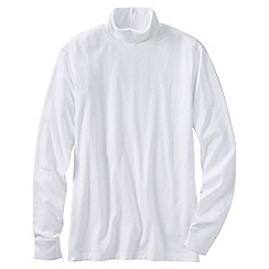 Lands' End - White men's super tee rollneck