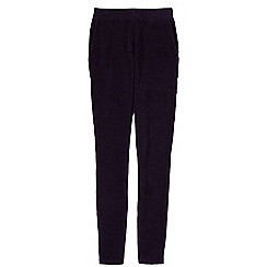 Lands' End - Purple women's stretch knit leggings