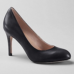 Lands' End - Black women's ashby high heel shoes