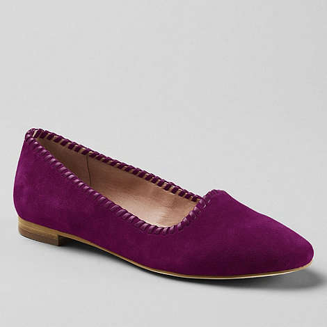Lands+ End - Vanessa Suede Pumps