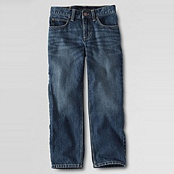 Lands' End - Blue Little Boys' Iron Knee Classic-Fit Jeans