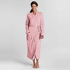 Lands' End - Pink mid-calf sleep-t robe