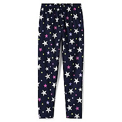 Lands' End - Girls' multicoloured print thermaskin heat midweight thermal pants