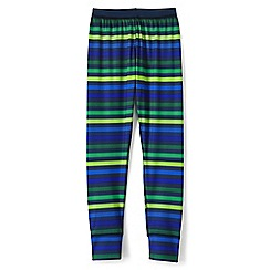 Lands' End - Boys' multicoloured print thermaskin heat midweight thermal pants