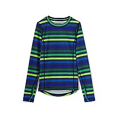 Lands' End - Boys' multicoloured print thermaskin heat midweight top