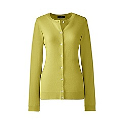 Lands' End - Yellow cashmere cardigan