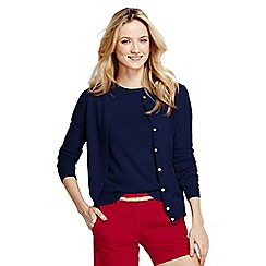 Lands' End - Blue cashmere cardigan