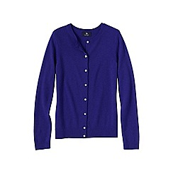Lands' End - Purple cashmere cardigan