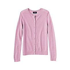 Lands' End - Pale pink cashmere cardigan