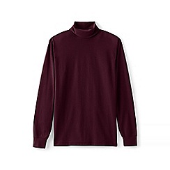 Lands' End - Red super tee rollneck
