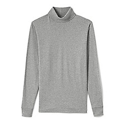 Lands' End - Grey tall  super tee rollneck