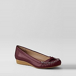Lands' End - Purple everyday slip-ons