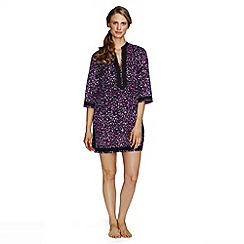 Lands' End - Multi women's cotton voile cover-up tunic
