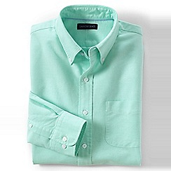 Lands' End - Green sail rigger oxford shirt