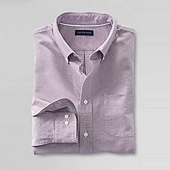 Lands' End - Purple men's sail rigger oxford shirt