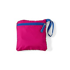 Lands' End - Red perfectly packable shopper