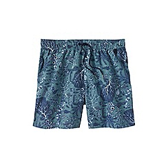 Lands' End - Blue men's patterned 6˝ swim shorts