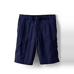 Lands' End - Blue shakedry cargo swim shorts
