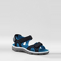 Lands' End - Black kids action sandals