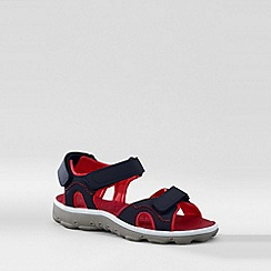 Lands' End - Blue kids action sandals