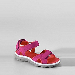 Lands' End - Pink kids action sandals