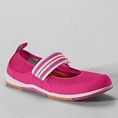 Lands' End - Pink girls mary jane  water shoes